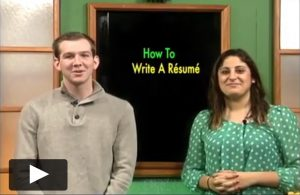 Resume Writing Tips Video